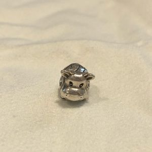 Discontinued Pandora cow charm